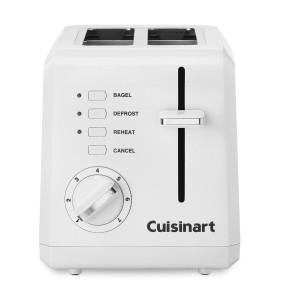 Conair Cuisinart 2-Slice Compact Plastic Toaster
