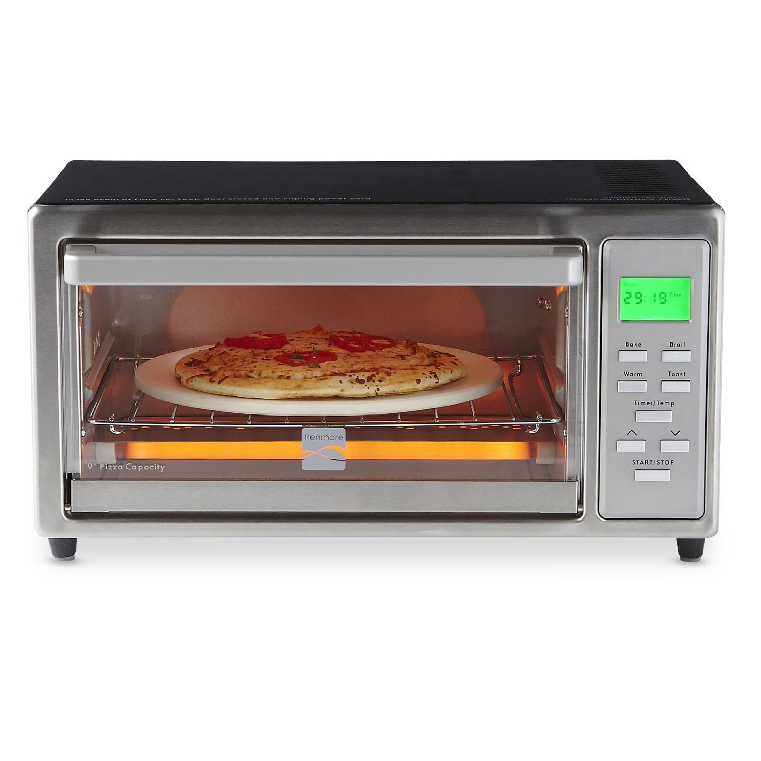 reviews product oven professional stainless frigidaire walmart steel com infrared convection slice toaster