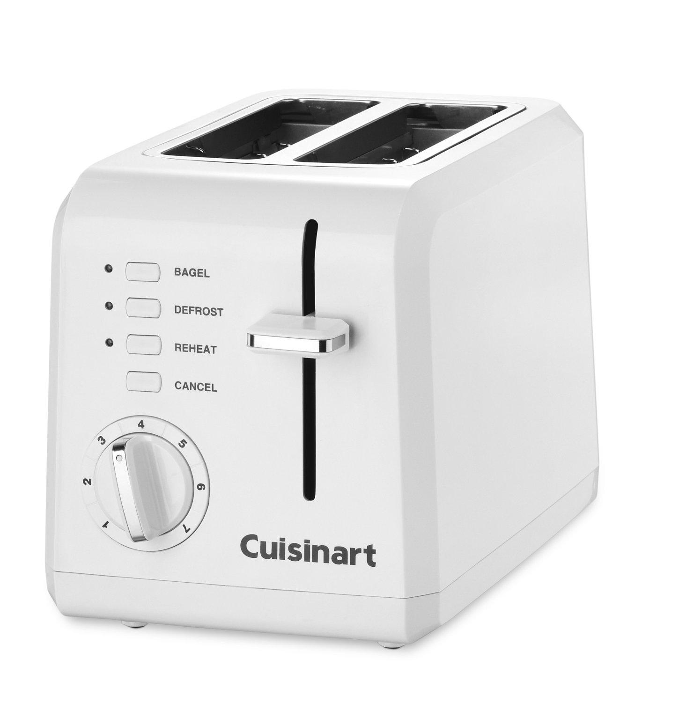 Conair Cuisinart 2 Slice Compact Plastic Toaster